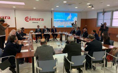 El Pleno de las Cámaras de Andalucía se reúne en Almería