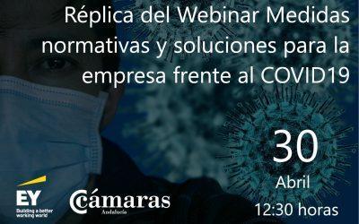 Réplica del WEBINAR: Medidas normativas y soluciones para la empresa frente al COVID19