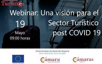 Webinar: Una visión para el  Sector Turístico  post COVID 19