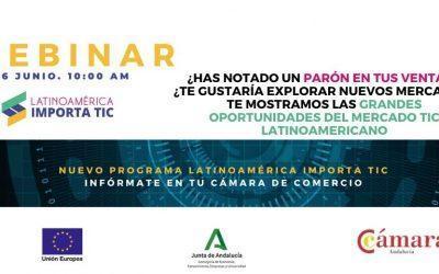 Webinar Las grandes oportunidades del sector TIC en Latinoamérica