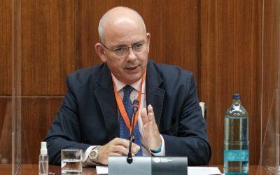 Intervención del presidente de las Cámaras de Andalucía en el Parlamento
