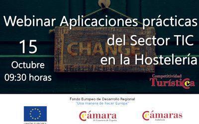 Webinar: Aplicaciones prácticas del Sector TIC en la Hostelería