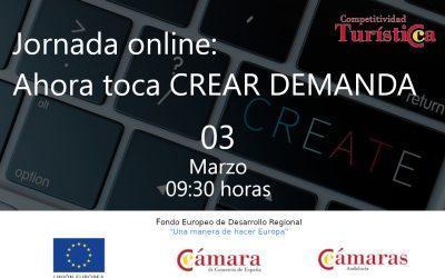 "Jornada Online ""Ahora toca CREAR DEMANDA"""