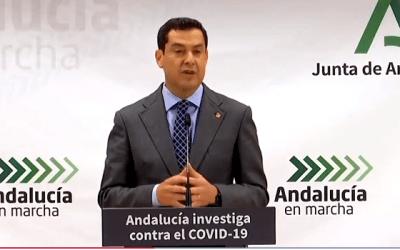 En directo | Moreno anuncia las nuevas restricciones para Andalucía