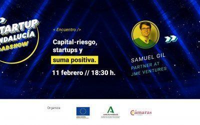 El jueves visita la academia de #AndalucíaRoadshow Samuel Gil de JME Ventures