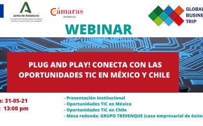 Webinar Global Business Trip – Plug and Play! Conecta con las oportunidades TIC en México y Chile