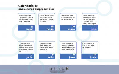 Best Digital2: Calendario de encuentros empresariales