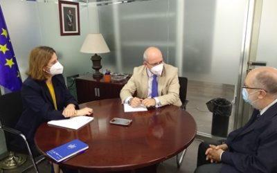 Visita institucional del Director Territorial de Comercio