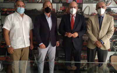 Sánchez Rojas visita a la empresa City Sightseeing