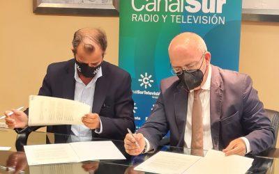 Las Cámaras de Comercio de Andalucía y Canal Sur firman un convenio para divulgar la actividad de pymes y autónomos